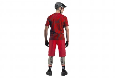 Maillot Manches Courtes Kenny Indy Rouge
