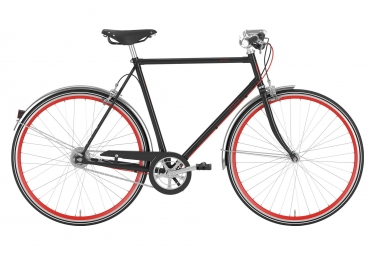 Gazelle Van Stael City Bike Men Black Shimano Nexus 7S