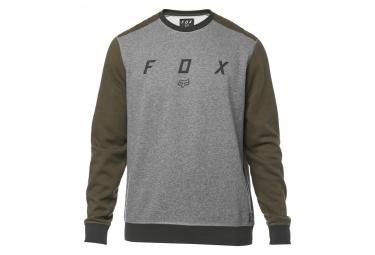 Sweat Fox Desktrakt Crew Fleece Gris / Khaki