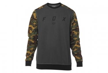 Fox Desktrakt Crew Fleece PO Camo / Nero