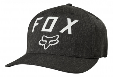 Casquette fox number 2 flexfit heather gris s m