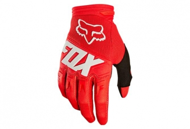 Gants Enfants Fox Youth Dirtpaw Race Rouge