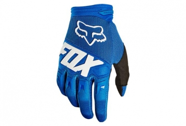 Gants Enfants Fox Youth Dirtpaw Race Bleu