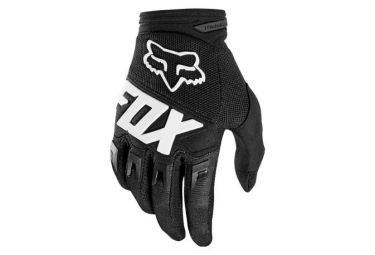 Fox Kid's Youth Dirtpaw Gloves Black