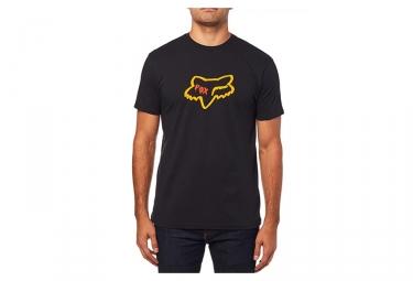 Tee shirt manches courtes fox czar head premium noir m