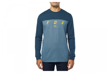 Tee shirt manches longues fox sylder knit bleu marine l