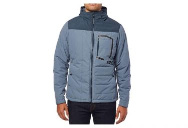 Veste a capuche fox podium jacket bleu xl