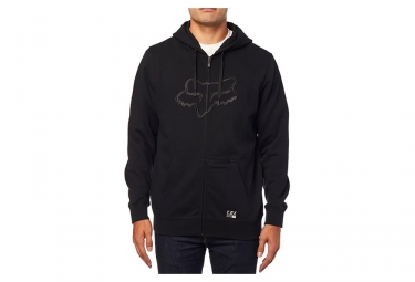 Fox Tracer Zip Fleece Black