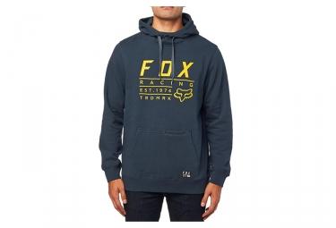 Fox Lockwood PO Feece with Hood Navy