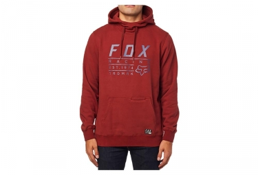 Sweat à Capuche Fox Lockwood Pullover Feece Rouge