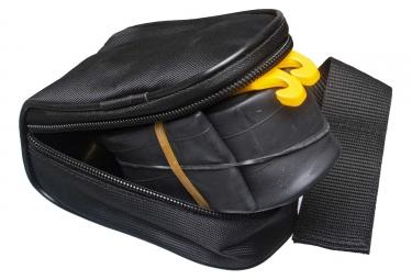 Sacoche de Selle Continental avec Chambre à Air 27.5'' 1.75 - 2.50 + 2 Démontes Pneus