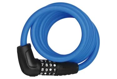 Antivol cable abus spiral 5510c 180 10 180 cm bleu