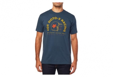 Fox Fifty Premium SS Tee Shirt Navy