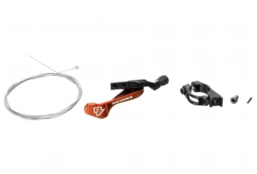Commande tige de selle raceface 1x turbine r orange