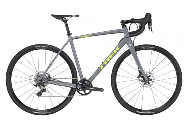 Velo de cyclocross trek 2019 crockett 7 disc sram force 1 gris 52 cm 162 169 cm