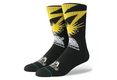 Socken Stance Bad Brains - Noir / Jaune