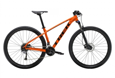 Vtt semi rigide trek 2019 marlin 7 29 shimano acera 9v orange 19 5 pouces 177 188 cm