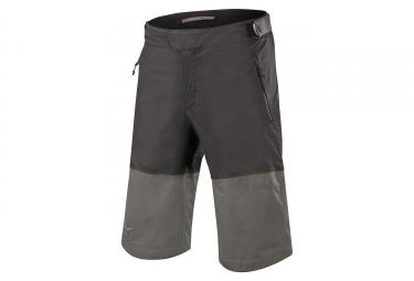 Short alpinestars tahoe wp noir gris fonce 28