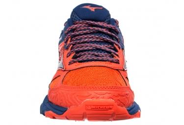 Chaussures de Trail Mizuno WAVE MUJIN 5 Bleu / Rouge