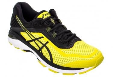 Chaussures running asics gt 2000 6 jaune 46