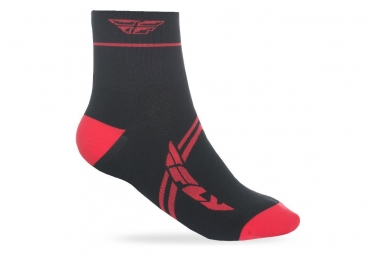 Calcetines Fly Racing Action - Rouge / Noir