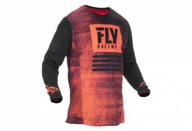 Fly Racing Noiz Kid Jersey Rojo / Negro
