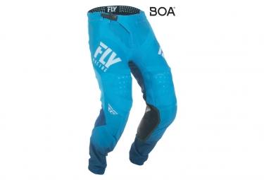 Pantalón de hidrógeno Fly Racing Lite azul / blanco