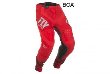Pantalones de hidrógeno Fly Racing Lite rojo / gris