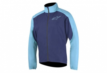 Veste coupe vent alpinestars descender 2 bleu xl
