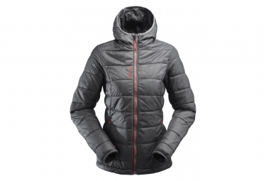 Lafuma women's down jacket ACCESS LOFT HOODIE W CARBONE Gray