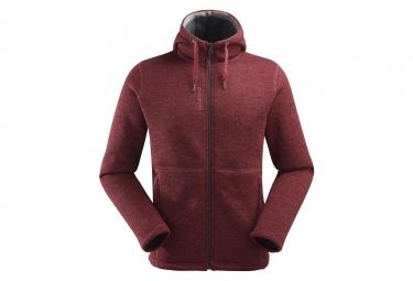 Polaire lafuma cali hoodie burgundy rouge l
