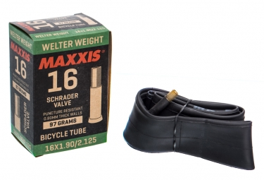 Chambre a air maxxis welter weight 16 schrader 1 90 2 12