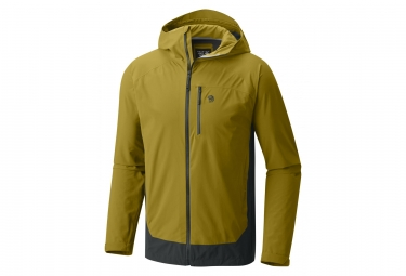 Veste coupe vent mountain hardwear stretch ozonic 2 0 jaune l