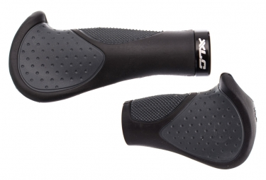 XLC Ergonomic Grips GR-S22 135-92 mm Black Grey