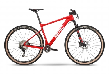 Vtt semi rigide bmc 2019 teamelite 01 three shimano xt 11v rouge blanc m 172 182 cm