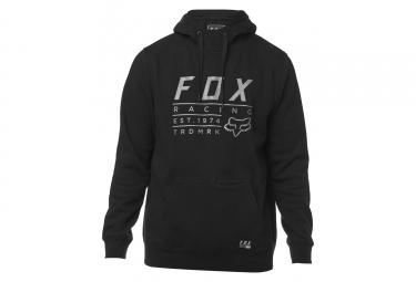 Fox PO with Hood Lockwood Feece Black