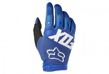 Gants Fox Dirtpaw Race Bleu