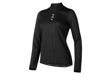 Maillot Manches Longues Femmes Fox Attack Thermo Noir