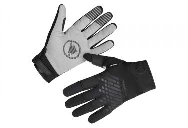 Gants Longs Imperméables Endura MT500 Noir