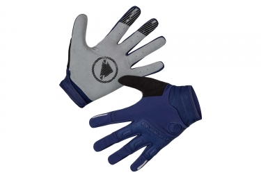 Gants Longs Coupe-Vent Endura SingleTrack Bleu Marine