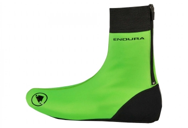 Endura Windchill Shoe Covers Hi-Viz Green