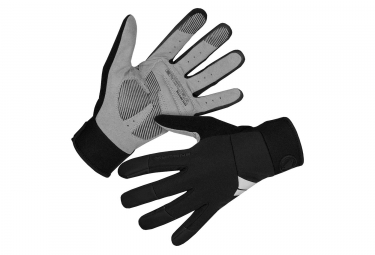 Endura Windchill Windproof Long Gloves Black