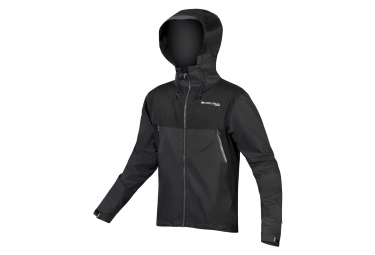 Veste Imperméable Endura MT500 Noir Gris Anthracite