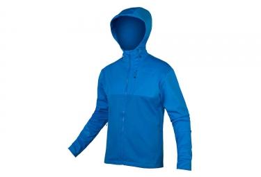 Veste Coupe-Vent Déperlant Endura SingleTrack II Bleu Azur