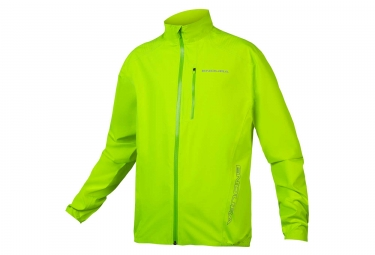 Endura Hummvee Lite Waterproof Jacket Hi-Viz Yellow