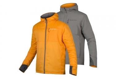 Endura Urban PrimaLoft II Reversible Thermal Jacket Pewter Grey Mango