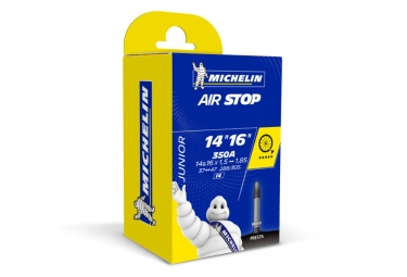 Michelin chambre a air vtt i4 airstop 14 16 valve presta 29 mm 1 50 1 90