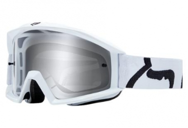 Masque fox main goggle race blanc