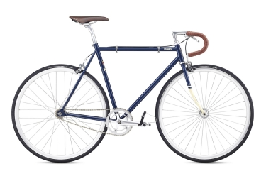 Velo fixie fuji feather 2019 bleu marine 58 cm 178 185 cm