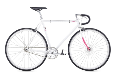 Velo fixie fuji feather 2019 blanc or rose 58 cm 178 185 cm